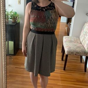 Multi-patterned Anthropologie Dress